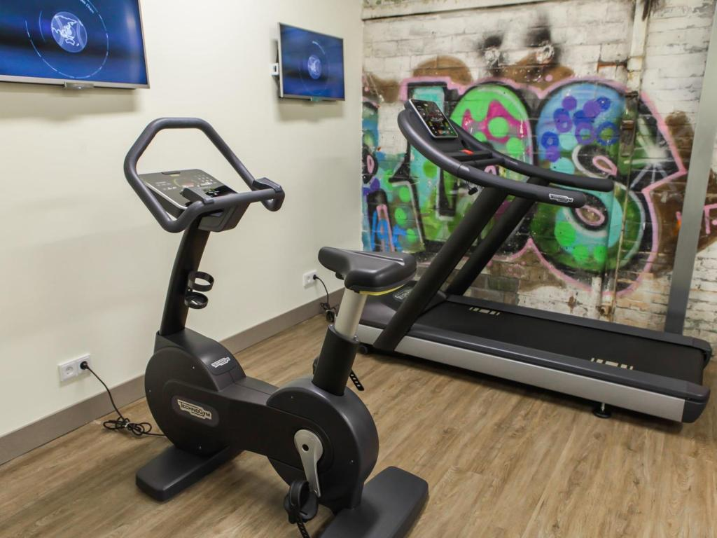 Fitness center DoubleTree by Hilton Hotel Amsterdam - NDSM Wharf