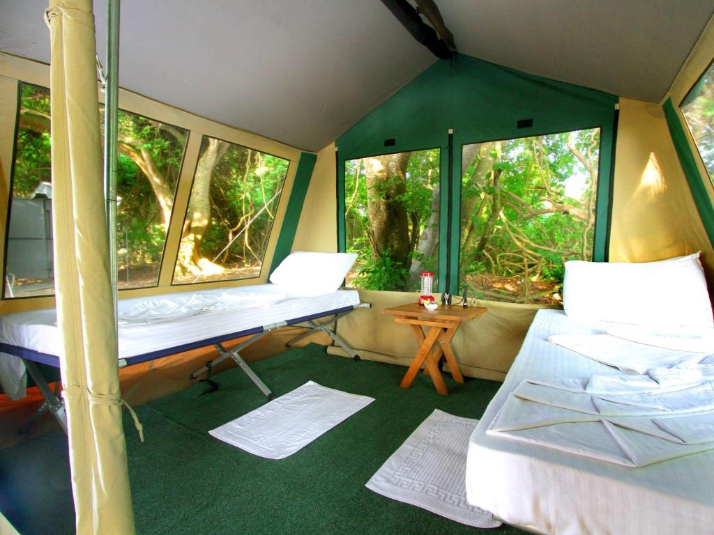 Interior view The Yala Camping
