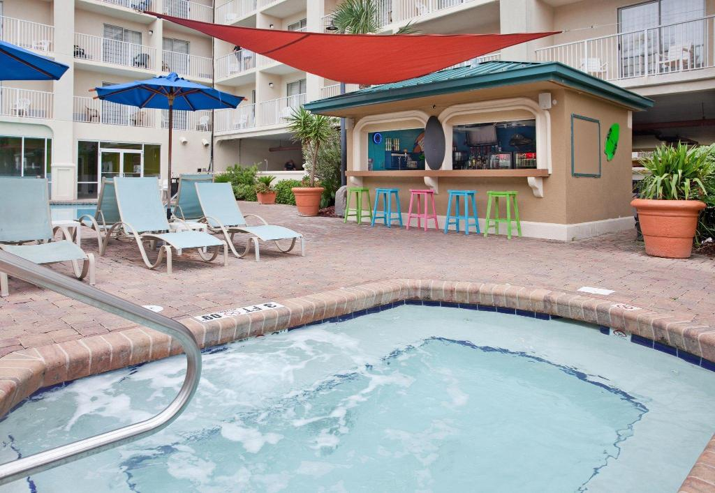 piscina al aire libre Hilton Garden Inn Orange Beach