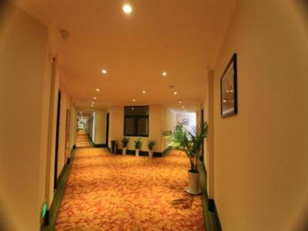 Interior view Greentree Inn Chizhou Qingyang Bus Station Boyishangdongcheng Business Hotel