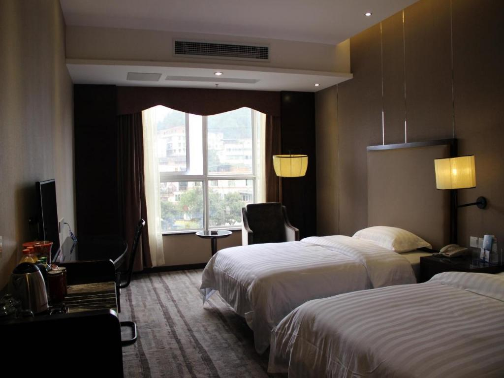 Business Twin Soba - Soba za goste Ane Courtyard Hotel Yibin Branch