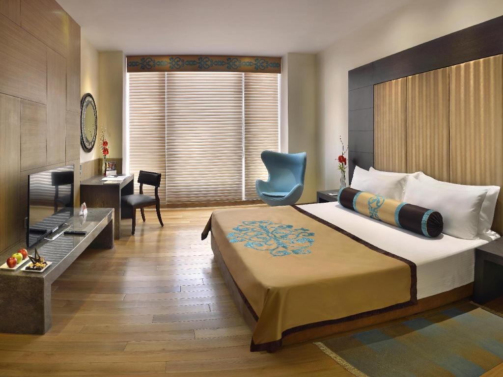 Quarto King Deluxe com Vista Cidade The Lalit Great Eastern Kolkata