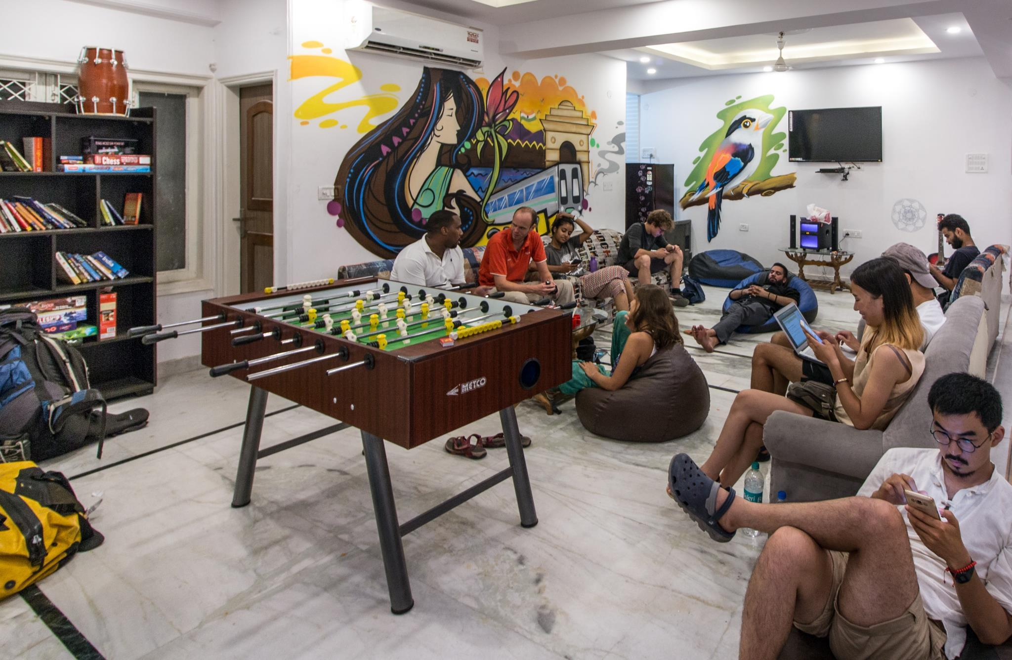 Etagenbett Heaven : Das hindustan by backpackers heaven in neu delhi und
