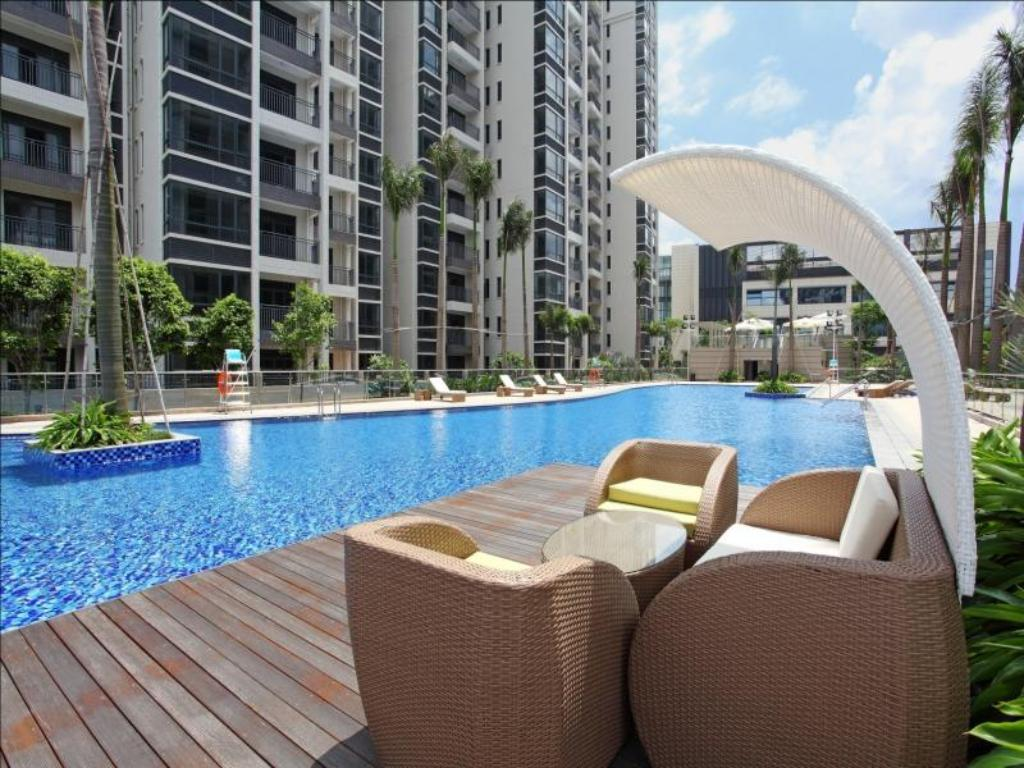 Swimming pool [outdoor] Zhongshan Starr Resort Residence