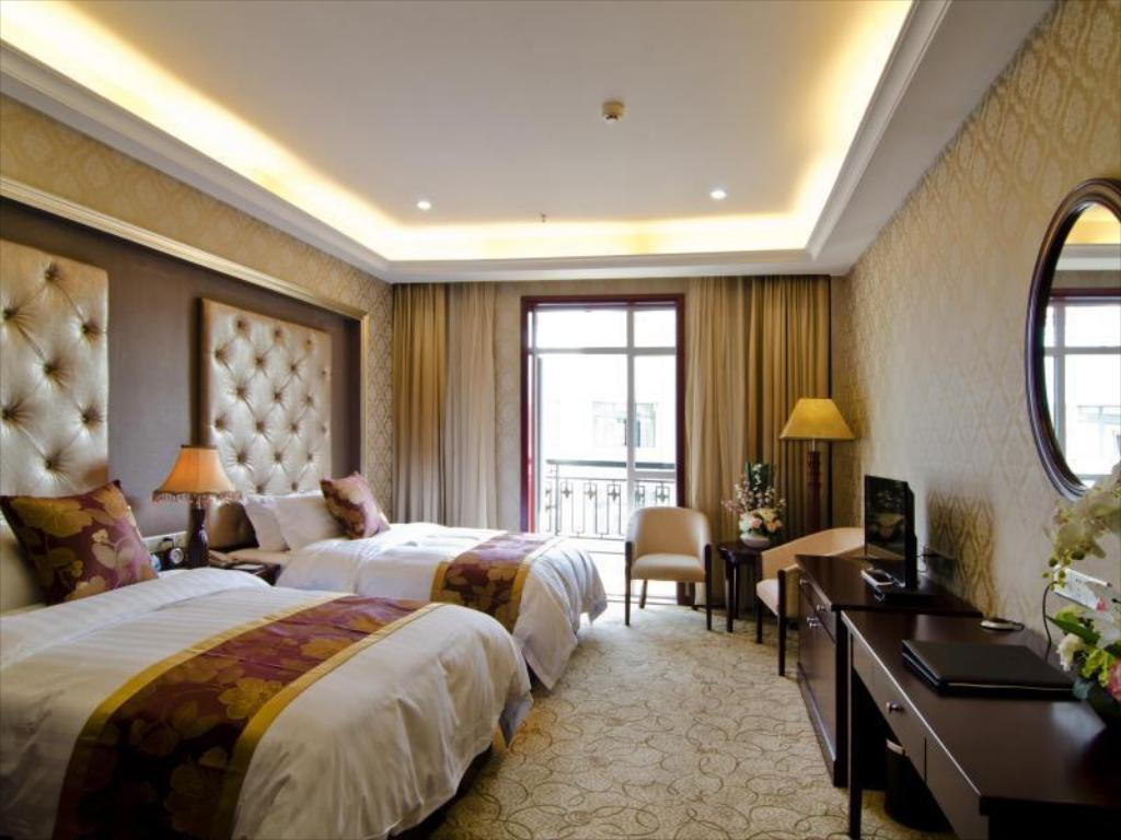 Superior Twin Room Wuhan Zall Royal Hotel- North Hankou International Hotel