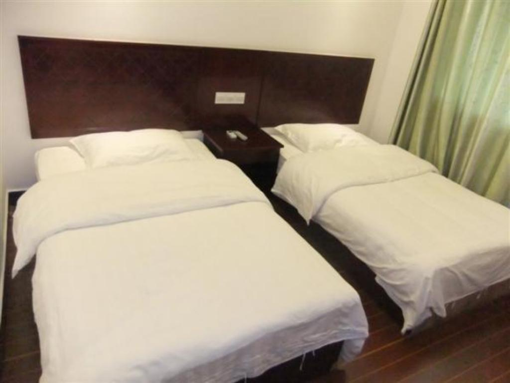 Twin Bed - Bed Zhangjiajie Beauty Nine Business Hotel