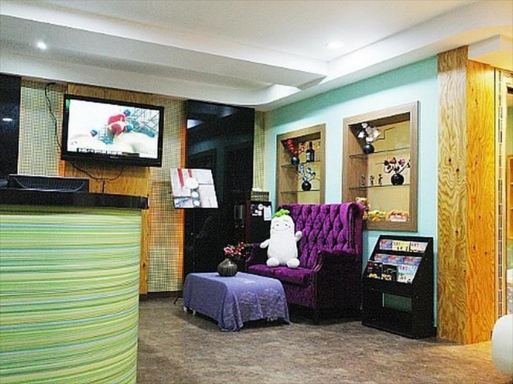 Interior view Gangnam City Hostel