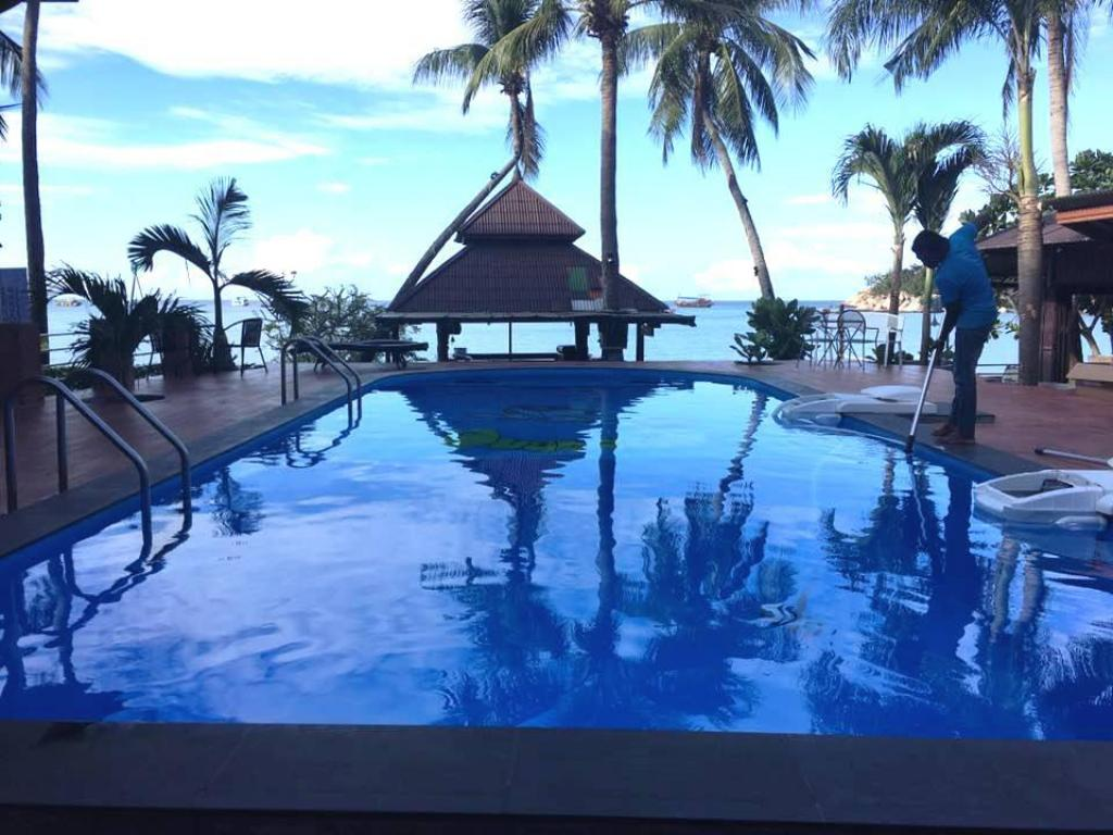 Pool Carabao Dive Resort