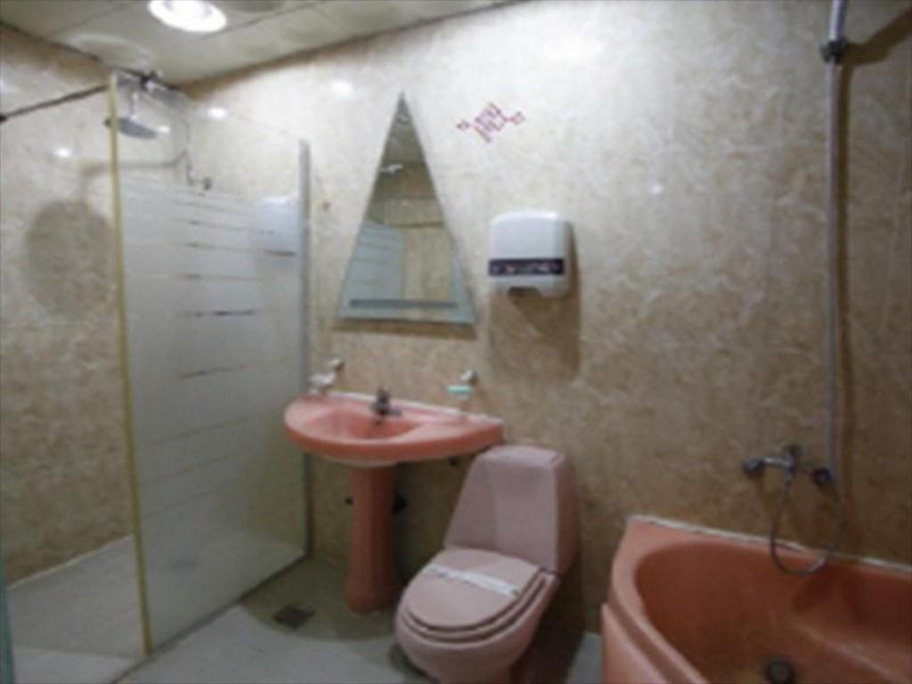 Baño Goodstay Songdo Beach Queen motel (Goodstay Queen Motel  Seogu)