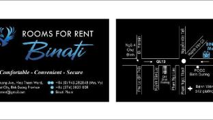 Binati rooms for rent at Thu dau mot
