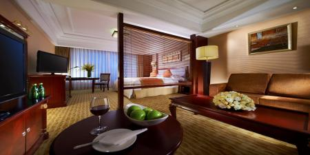 1 King Bed Deluxe Smoking Crowne Plaza City Center Ningbo
