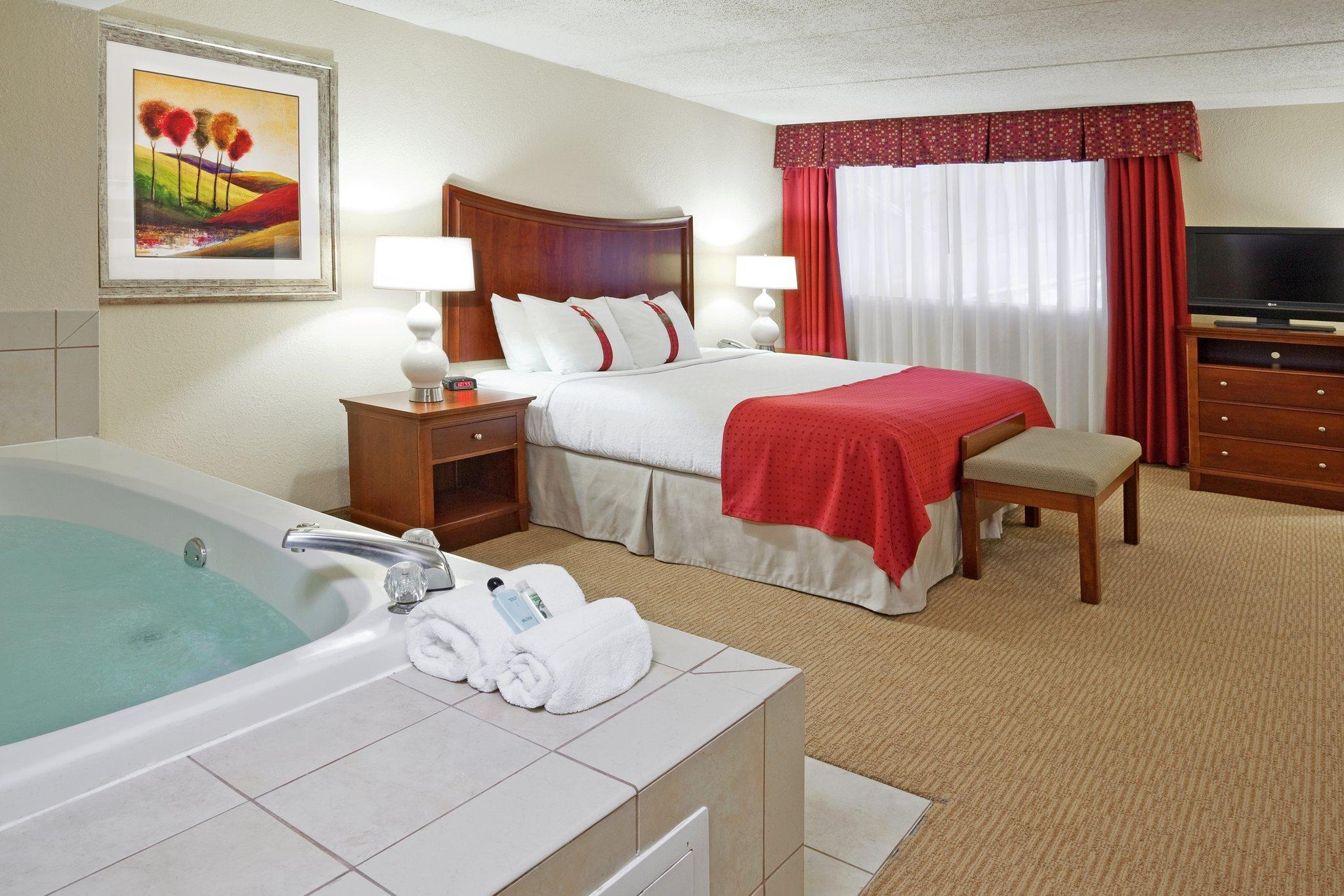 1 King Bed Executive Jacuzzi Suite Non-Smoking