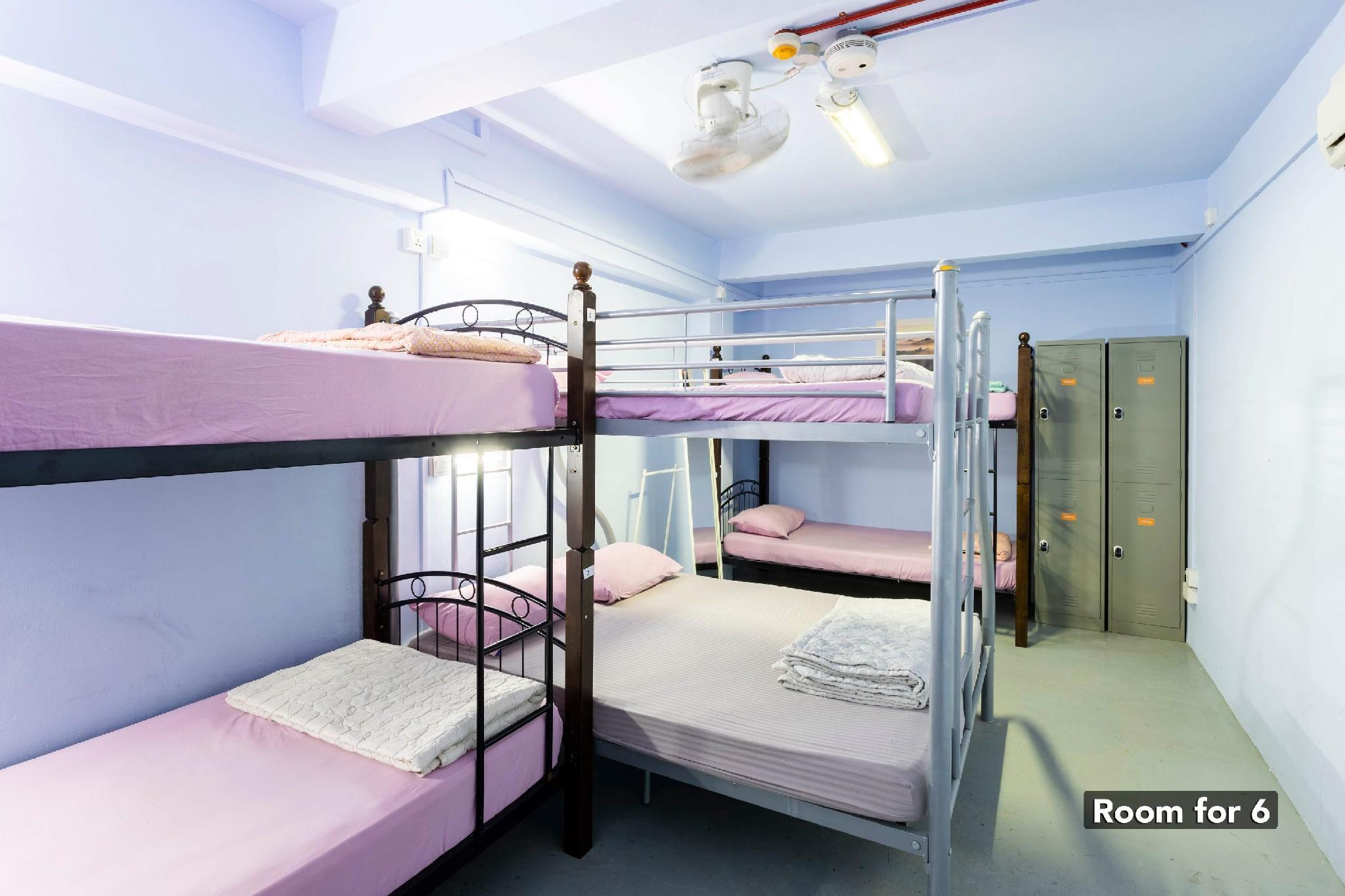 1 Person in 6-Bed Dormitory - Mixed