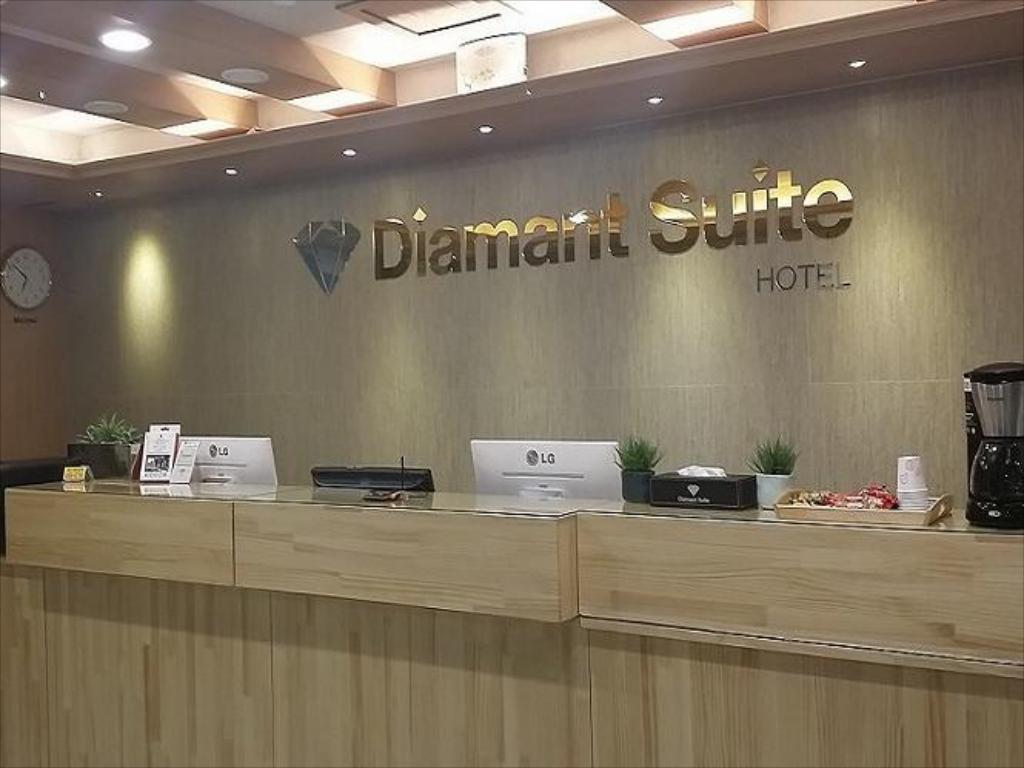 Vista interior Diamant Suite Hotel