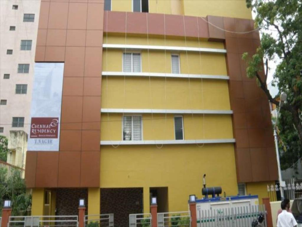 Exterior view Chennai Residency Serviced Apartment - T Nagar