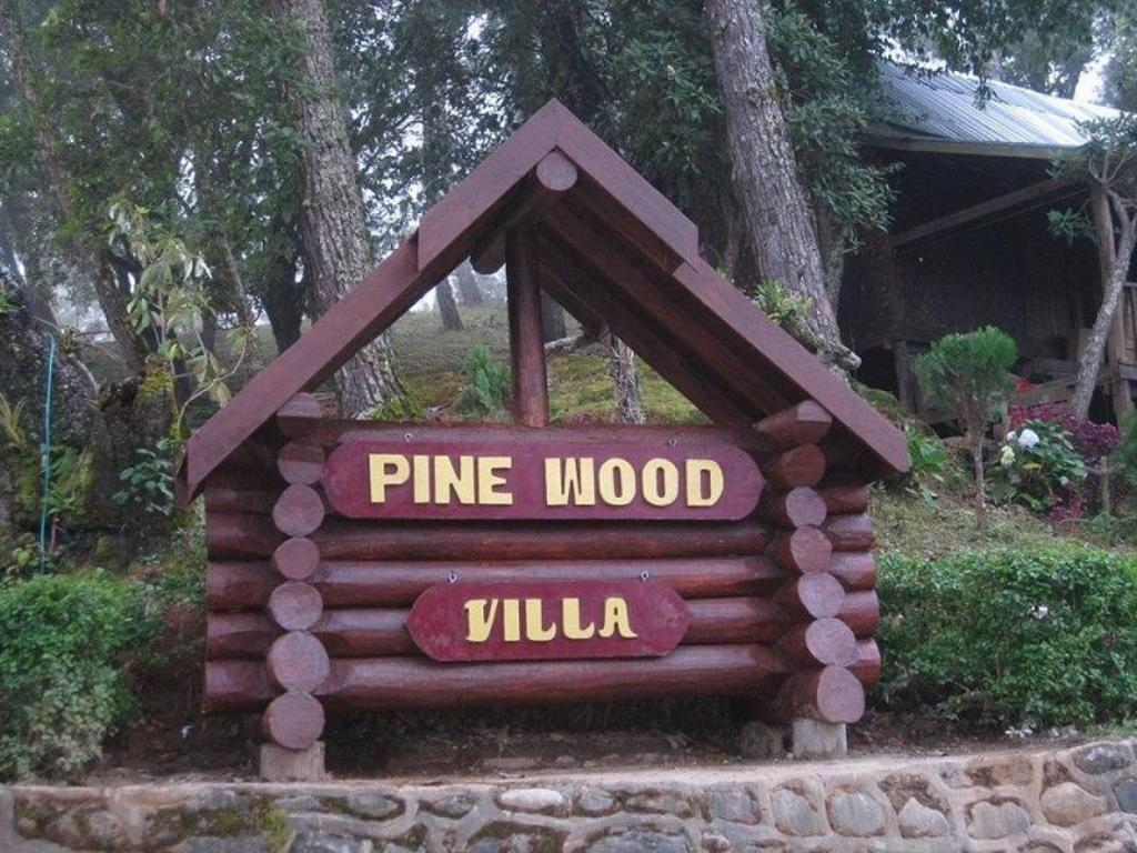 Entrance Pine Wood Villa Resort