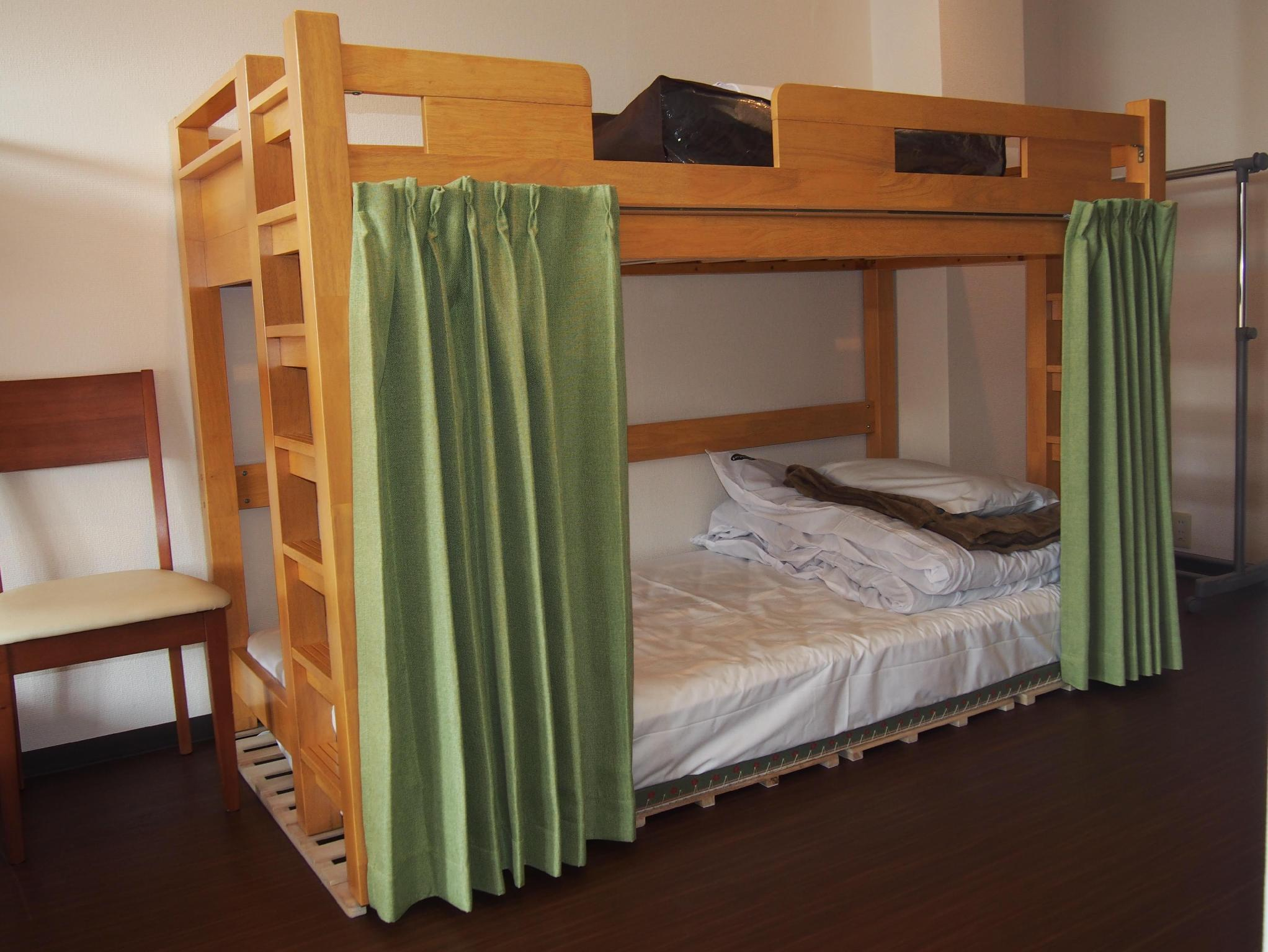 1 Person in 6-Bed Dormitory with Shared Bathroom - Female Only