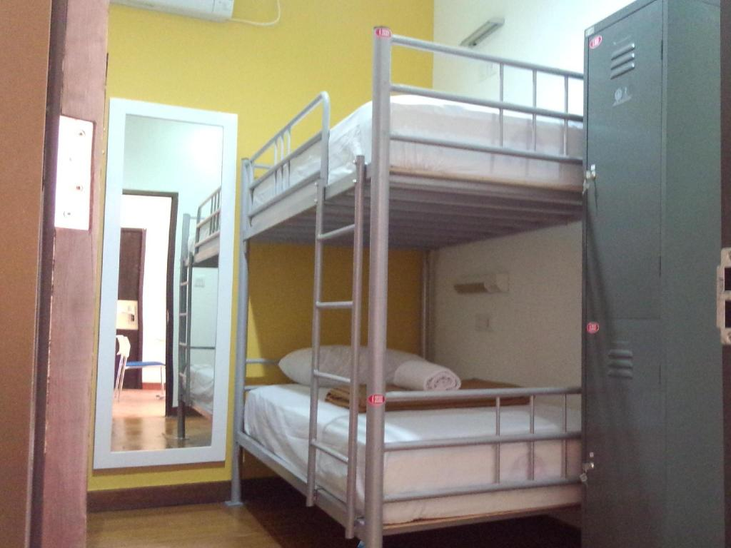 Interior view CX Hostel Kuta Raya