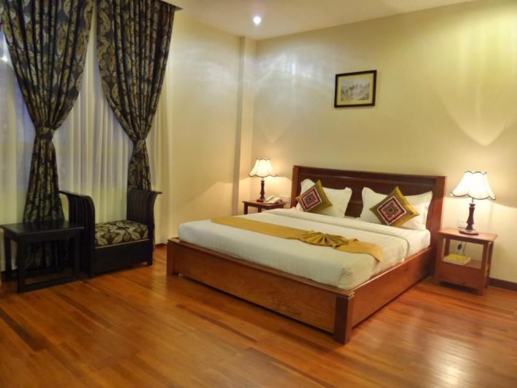 Deluxe Double - Room plan Pandan Boutique Hotel