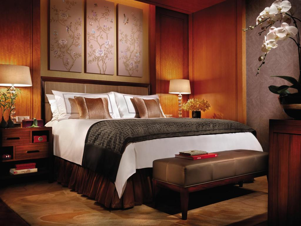 Garden Room with King Bed - Bed Four Seasons Hotel Hangzhou at West Lake