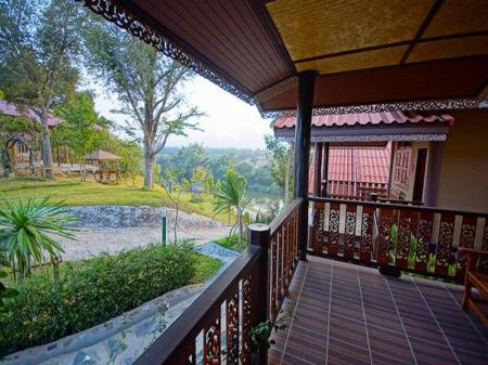 Балкон/тераса Wang Yai River Kwai Resort