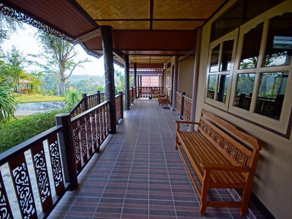 Balkon Wang Yai River Kwai Resort