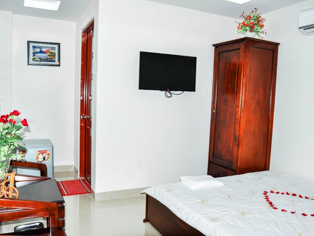 Standard Queen Bed - Guestroom Thien Thanh Cerulean Hotel Nha Trang