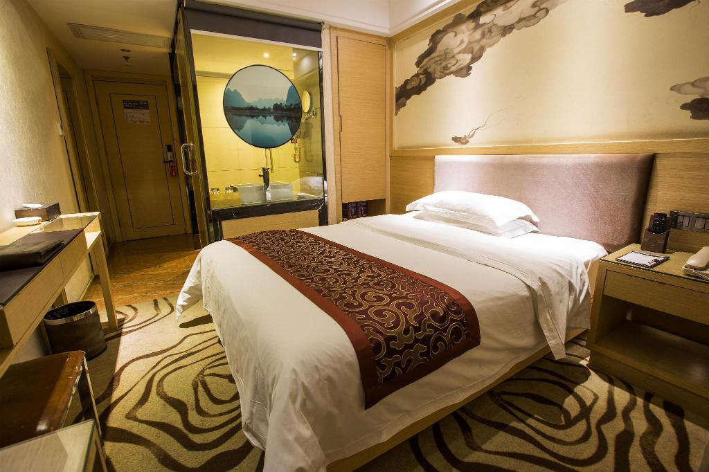 Standard Queen Bed - Room plan Xinghe Xianjiang HotelRailway Station Branch