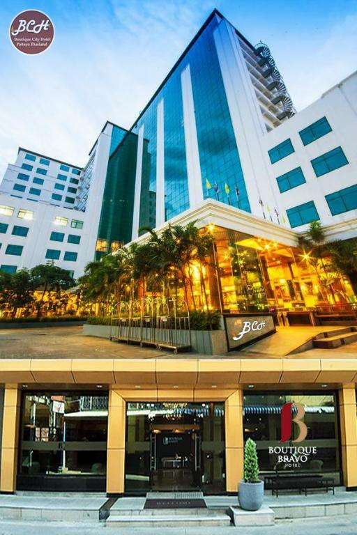 Boutique City And Bravo Hotel Pattaya