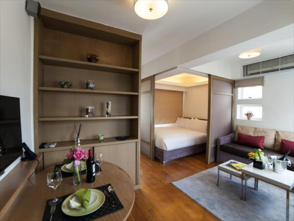 Queen Standard Μονάδα - Δωμάτιο Mier Serviced Apartments