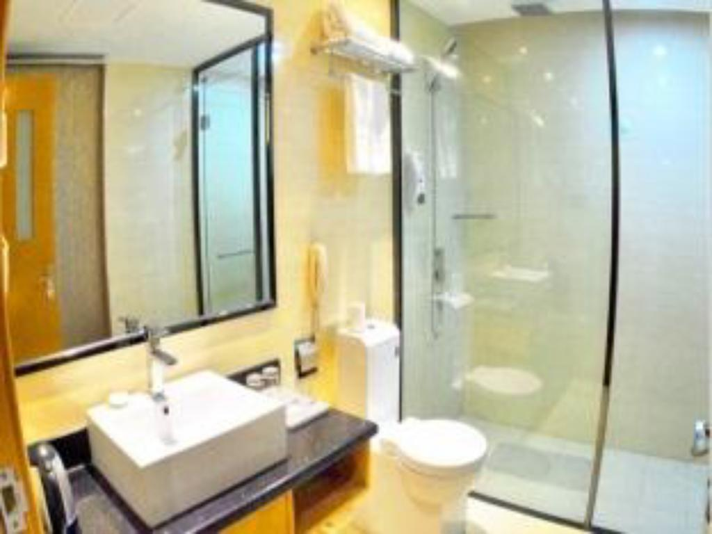 Bathroom Wuhan Ruian Hailong Hotel