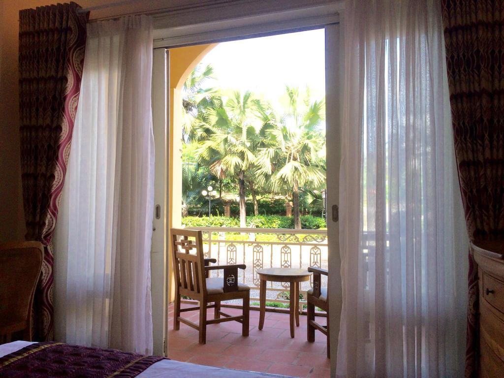Deluxe Garden View - View from inside Trang An Phu Quoc Beach Resort and Spa