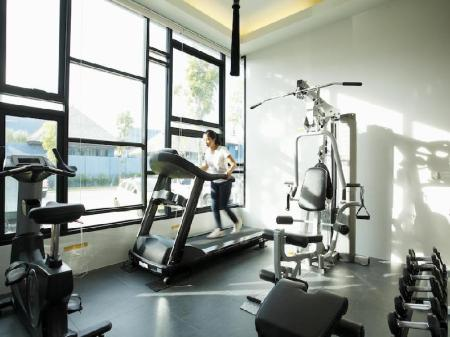 Fitness center Wings Phuket Villa by Two Villas Holiday