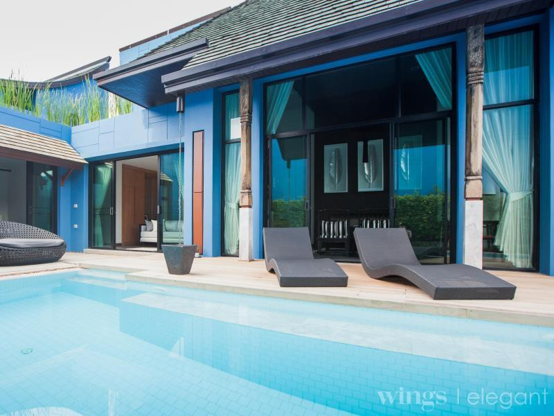 VILLA 3 BEDROOMS PRIVATE POOL - ROOM ONLY
