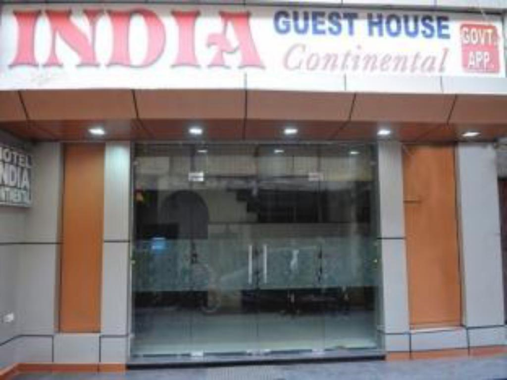 Vchod Hotel India Continental