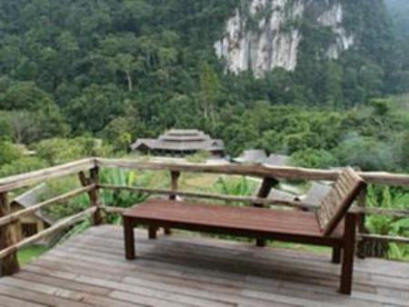 balcon/terrasse The Cliff and River Jungle Resort