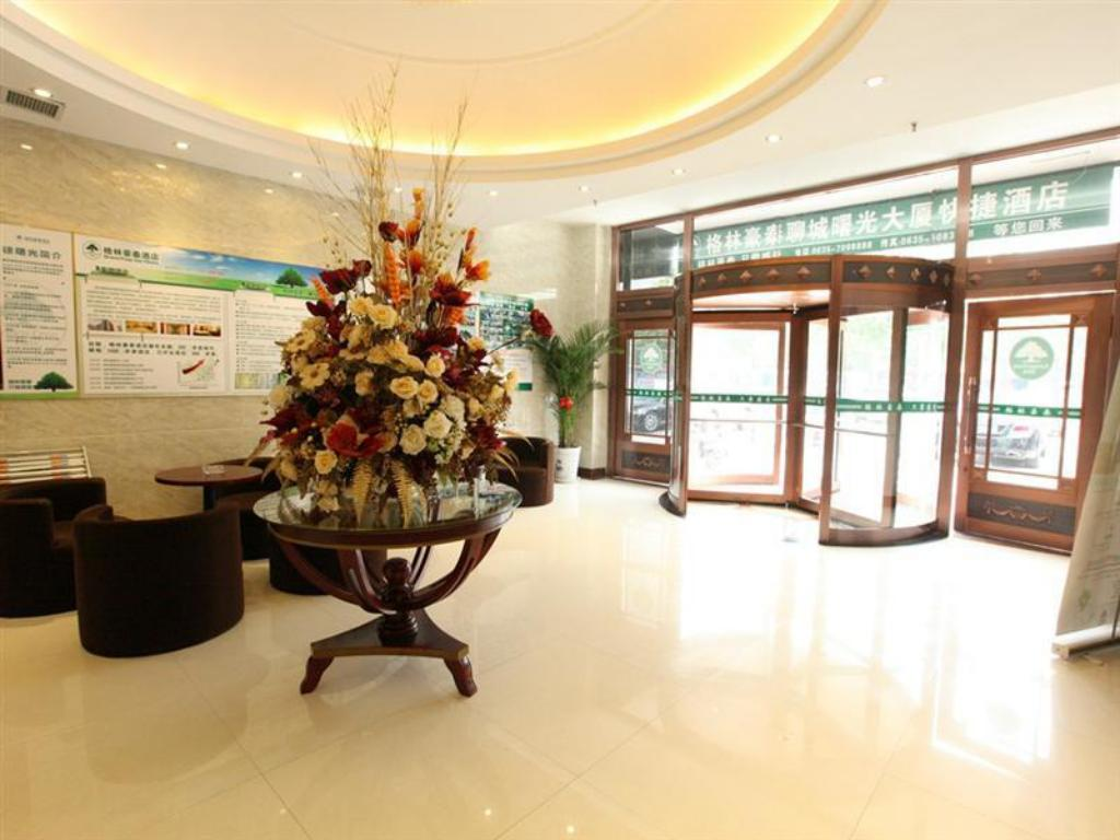 Vista interior GreenTree Inn Liaocheng Five Star Department Store Express Hotel