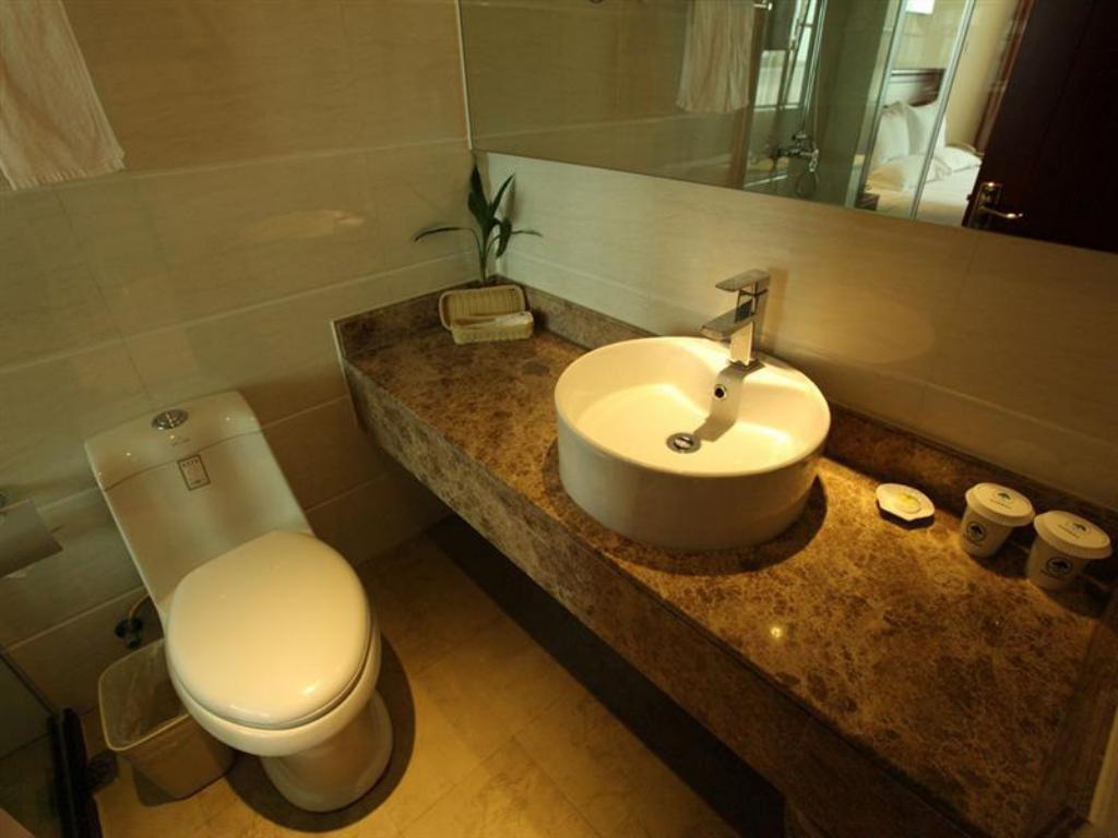 Bathroom Greentree Inn Liaocheng Shuguang Building Express Hotel