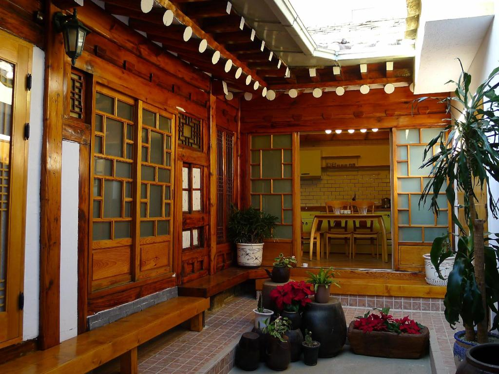 Interior view Hanok Guesthouse 202