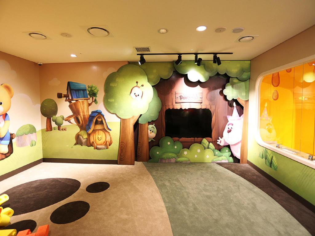 Kids areas Kensington Jeju Hotel