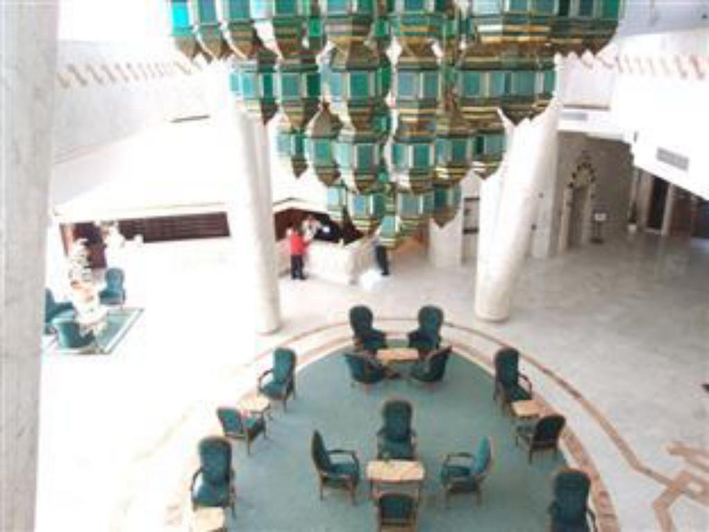 Vista Interior Chems El Hana Hotel