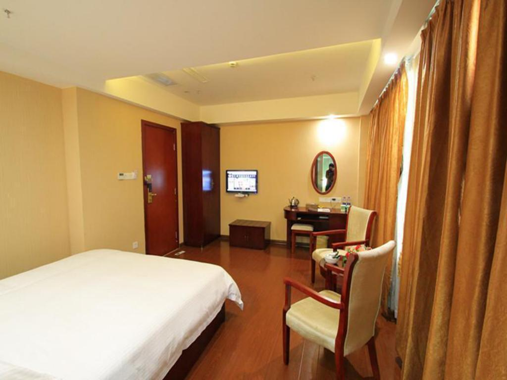 Habitación Deluxe King - Habitación Greentree Inn Jieyang Municipal Government Express Hotel (Greentree Inn Jieyang North Linjiang Road Express Hotel)