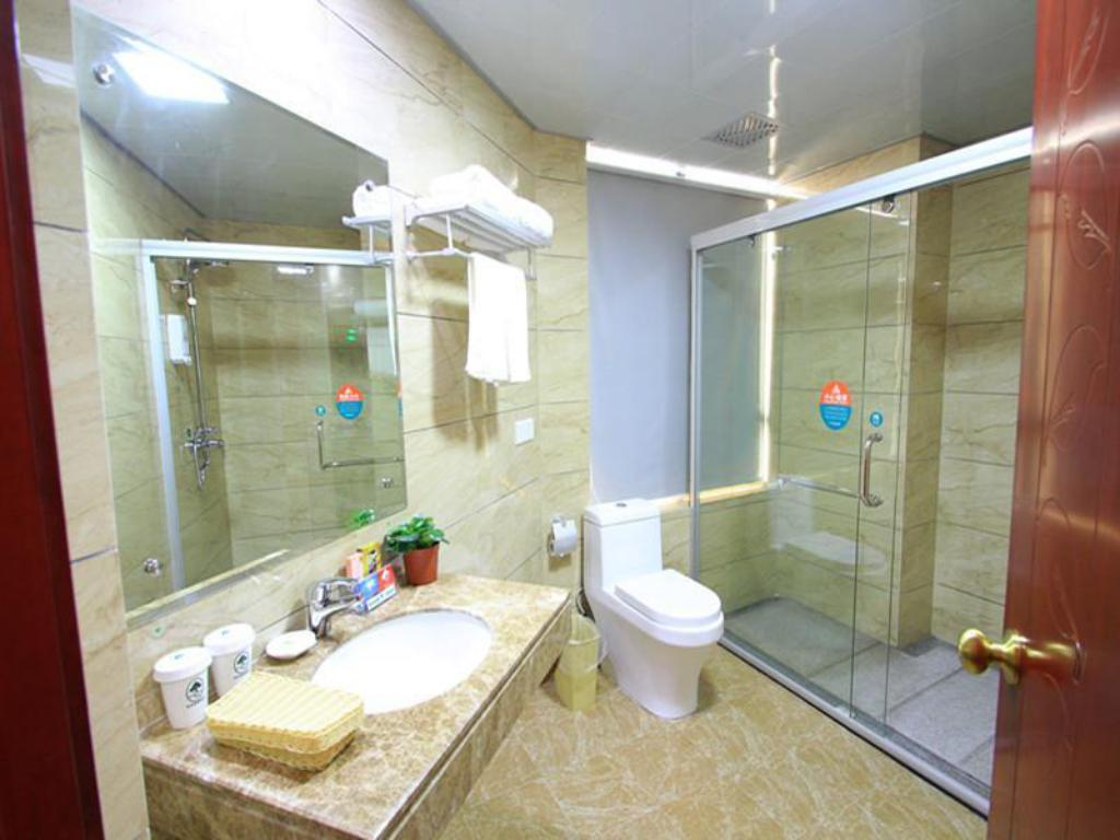 Baño Greentree Inn Jieyang Municipal Government Express Hotel (Greentree Inn Jieyang North Linjiang Road Express Hotel)