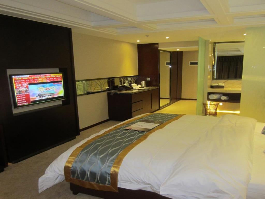 Deluxe King Room - Guestroom Haihe lnternational Hotel Xichang Branch