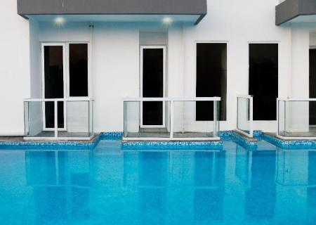 Swimming pool [outdoor] Indoluxe Rent Apartment Jogja