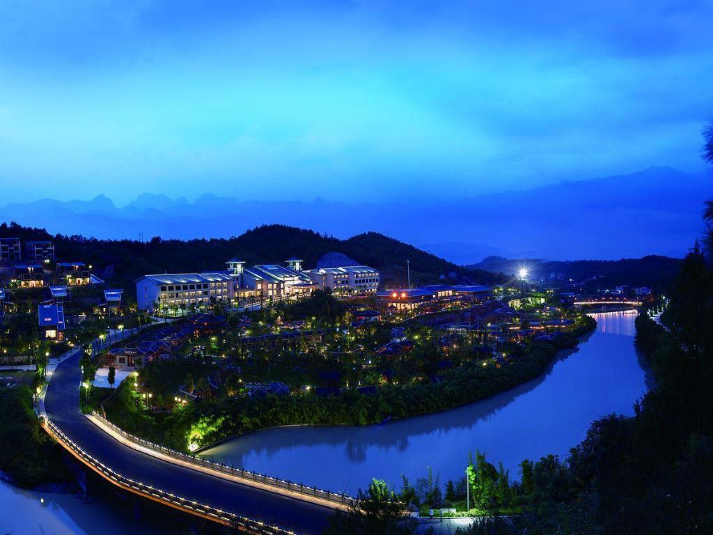 Longyan Liancheng Tianyi Hotsprings Resort In China
