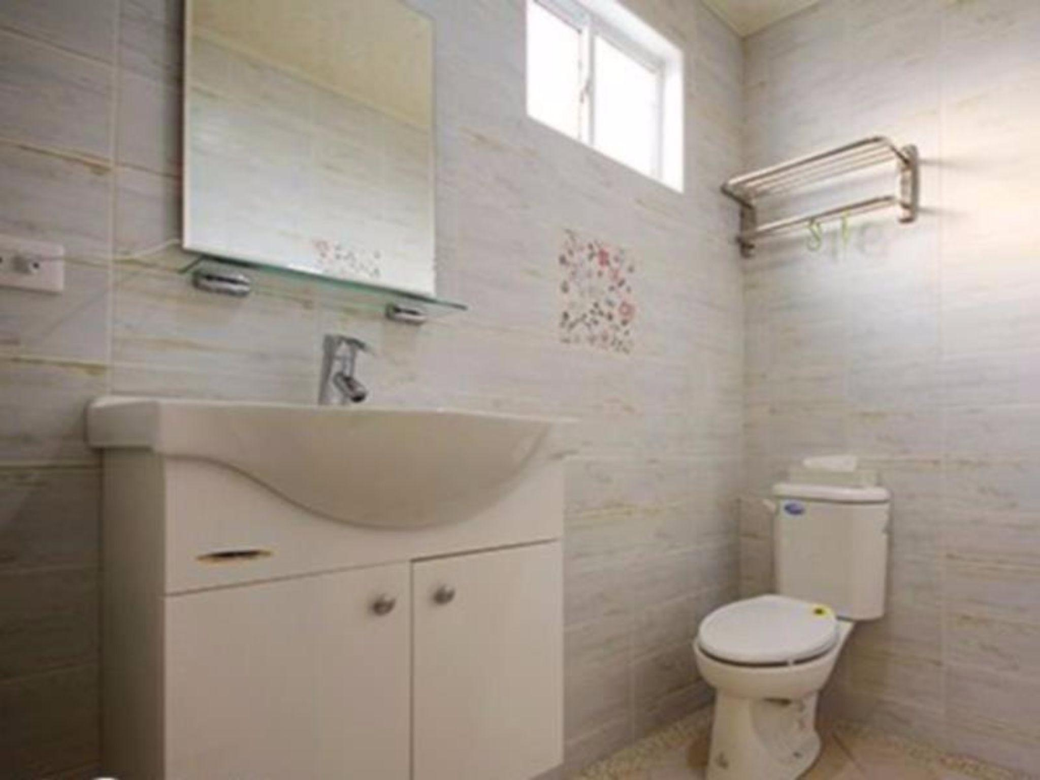 Quad shared bathroom