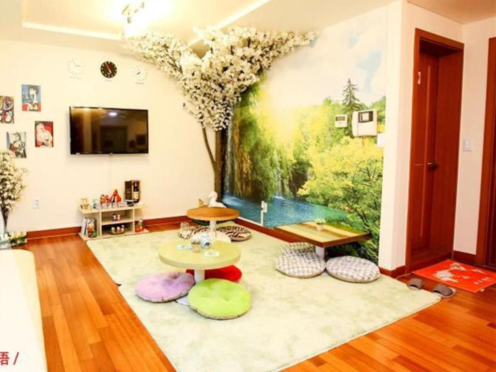 Interijer hotela Bounce Guesthouse Hongdae (Foreigners Only)