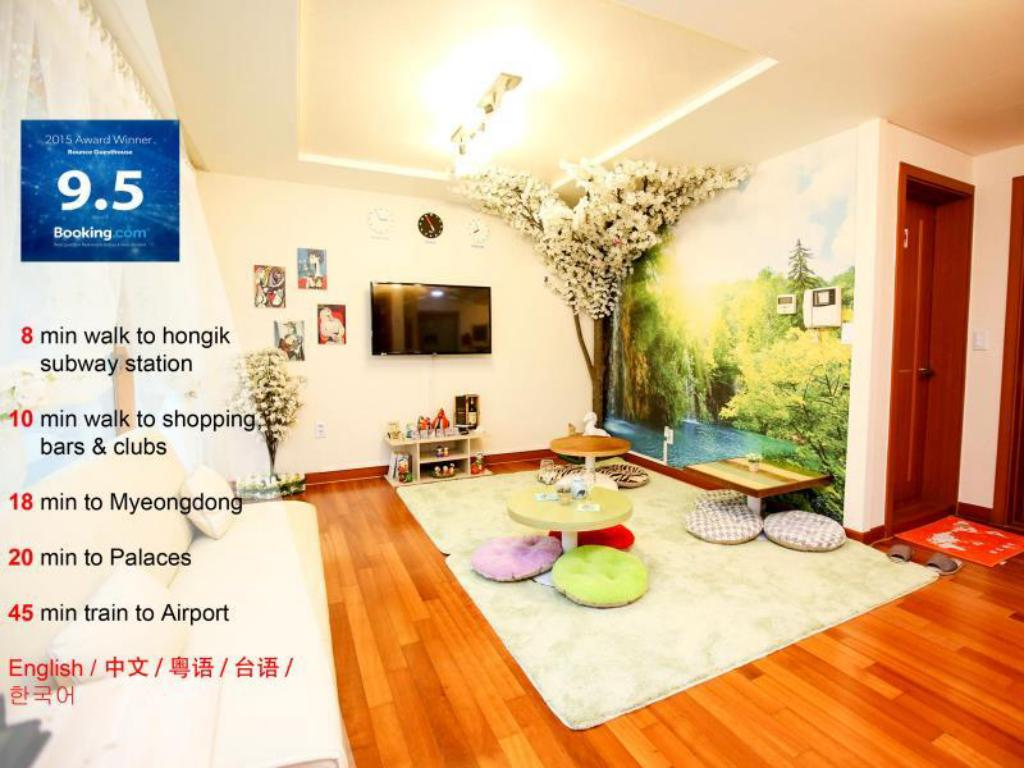 Bounce Guesthouse Hongdae (Foreigners Only)