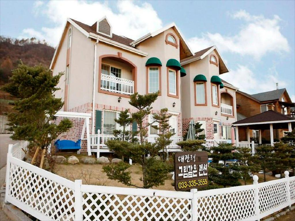 Exterior view Daegwanryeong Sketch Pension